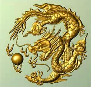 sello de dragon Asiatico