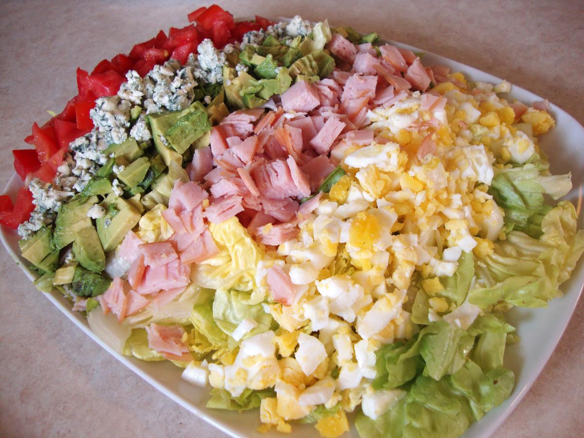 my back pages: turkey cobb salad
