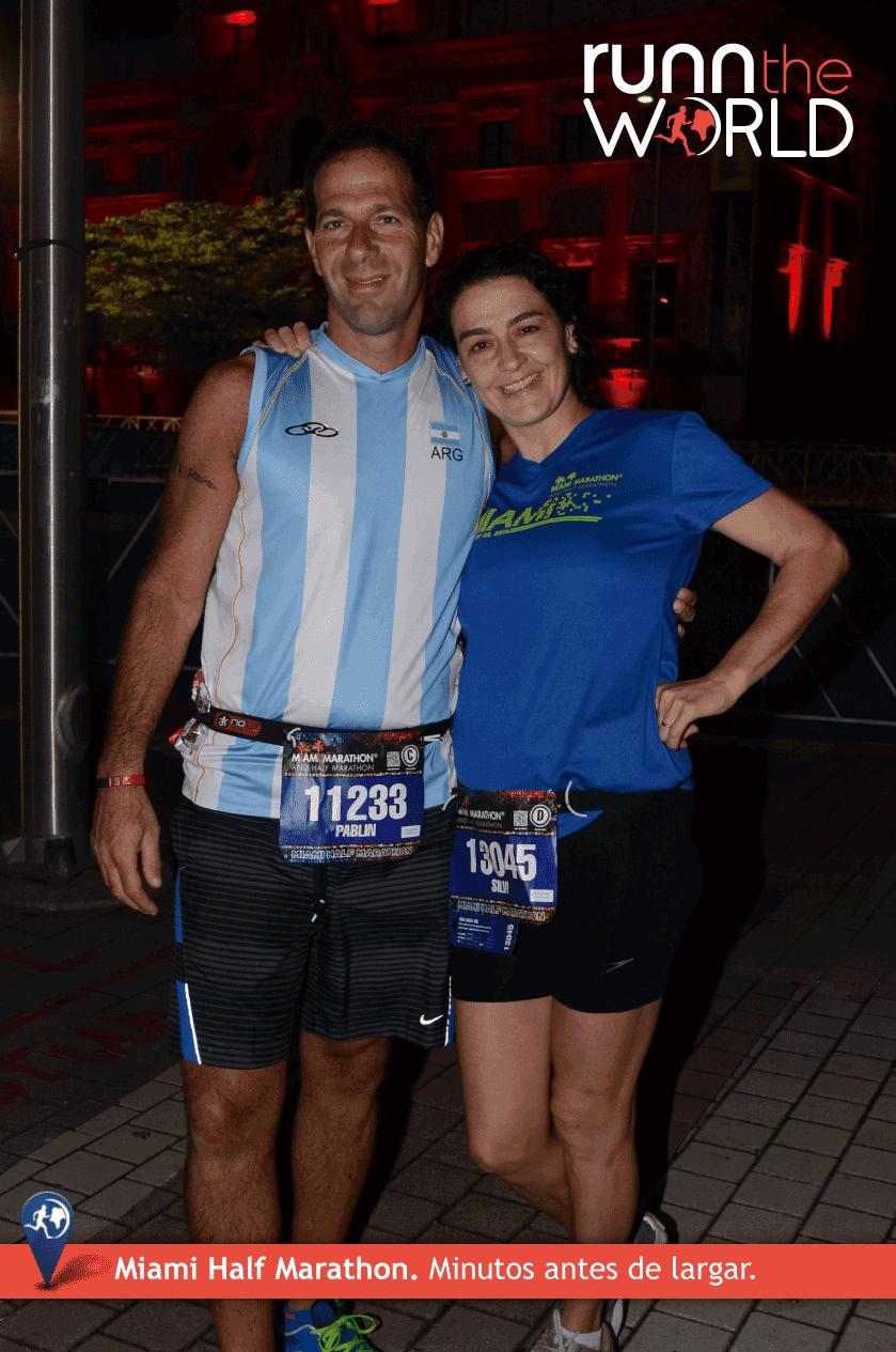 Miami Half Marathon 2014 Largada