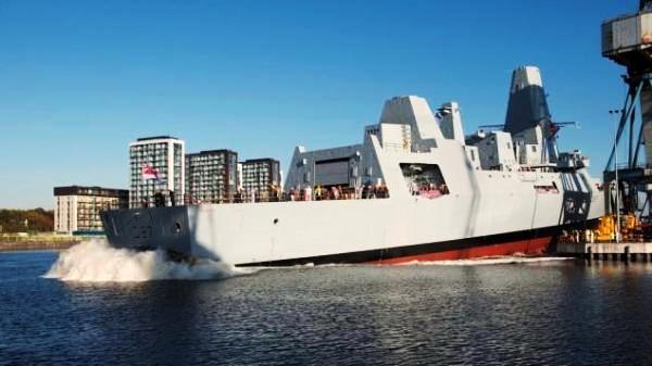 Diluncurkan dari galangan kapal Scotstoun
