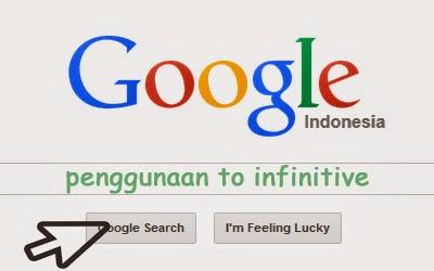 penggunaan to infinitive bahasa inggris