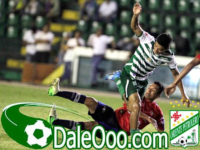 Oriente Petrolero - Alcides Peña - Oriente Petrolero vs Wilstermann - DaleOoo.com página del Club Oriente Petrolero