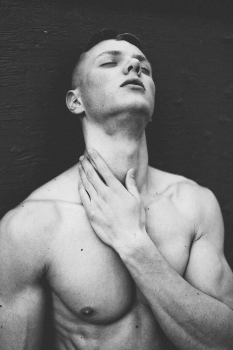 Dragos V. shirtless by Jared Bautista