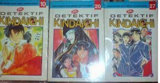 Komik Detektif Kindaichi Bekas