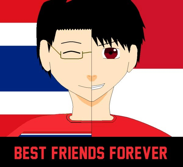 Thailand & Indonesia Friends Forever