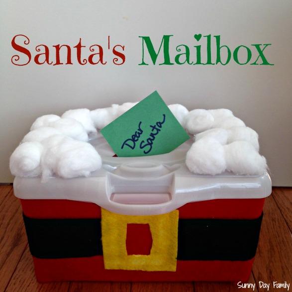 Make Santa's Mailbox: Christmas Activity for Kids | Sunny Day Family