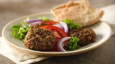 These flavorful rounds are made from well Fava Bean Rounds (Falafel) Recipe