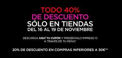 40% Descuento en Blanco Noviembre 2012