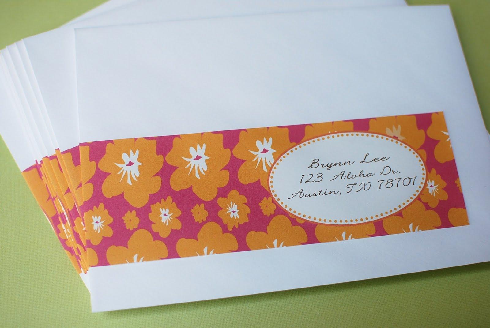 Galerry envelope design ideas
