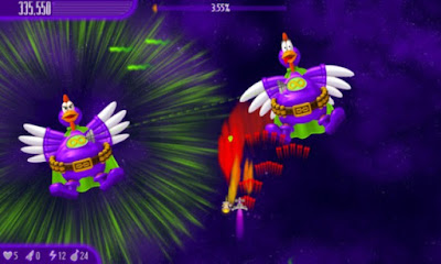Chicken Invaders 4 Gameplay Youtube