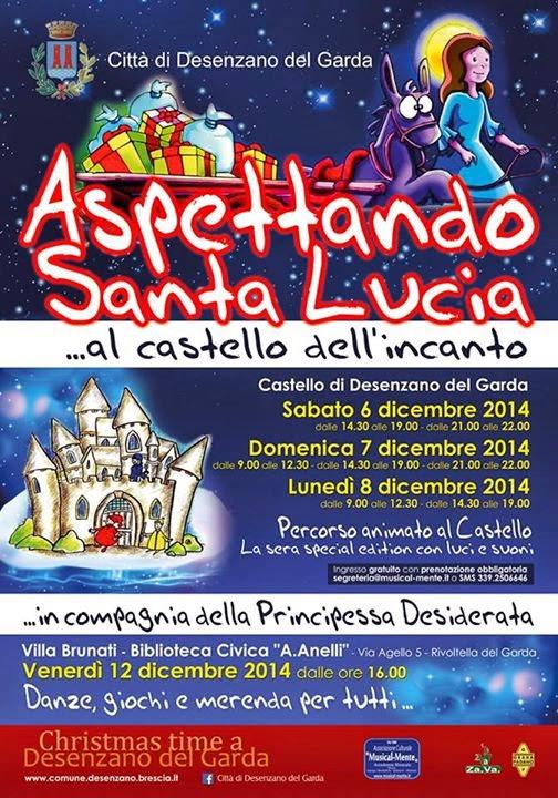Aspettando Santa Lucia dal 6 all'8 Dicembre  Desenzano del Garda
