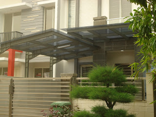 kanopi kaca,canopy minimalis