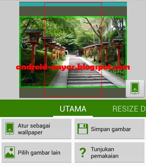 Trik Cara Ganti Wallpaper Android Full Screen Tanpa Crop