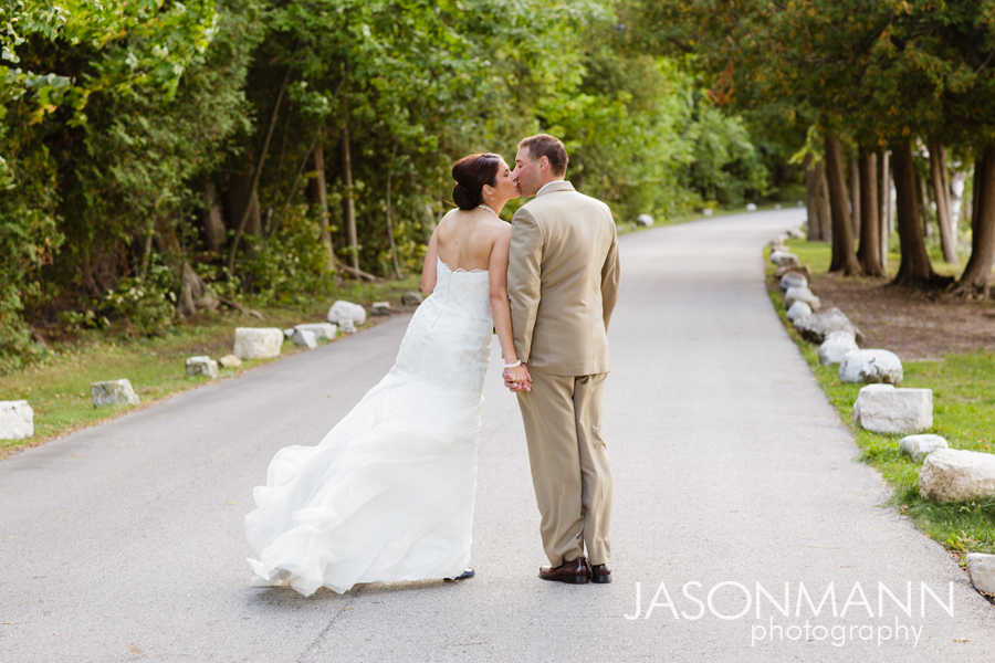 Jason Mann Photography - Door County Wedding Bride & Groom