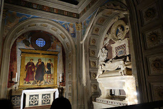 San Miniato Florence Italy Gregorian Chant side chapel