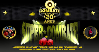 premio viaje Estados Unidos pelea de box combate space promocion super combate Canal space TV Mexico 2011