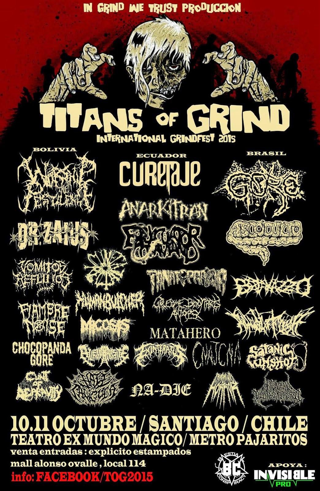 TITANS OF GRIND
