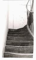 O sotão da infância, porta fechada sobre a memória (fotografia Marina Tavares Dias, 1988)
