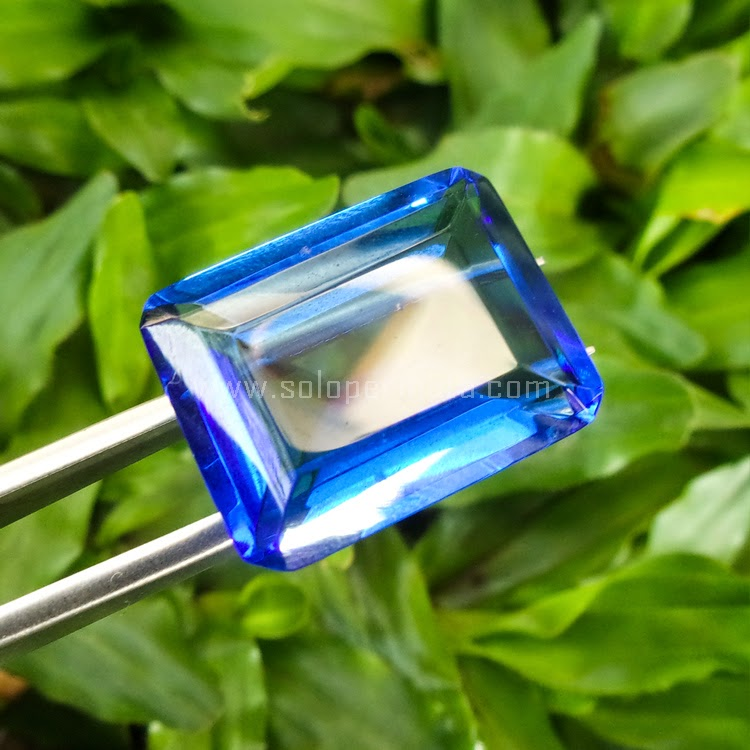 Batu Permata Blue Obsidian - SP553