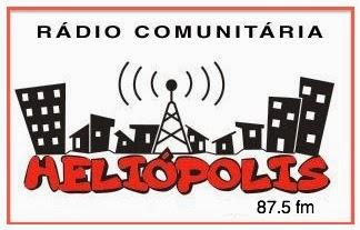 Site da Rádio Heliópolis