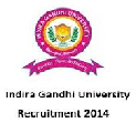 Indira Gandhi University, Rewari Recruitment notice for non-teaching vacancies 2014
