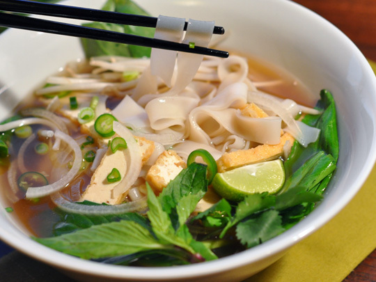 Vegetarian Pho Bo)