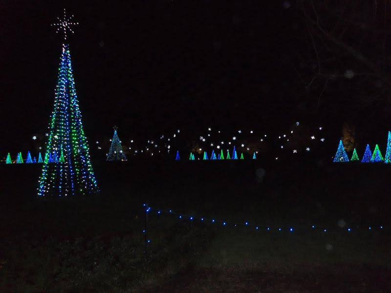 Sandcastle Momma Bellingrath Gardens Christmas Lights