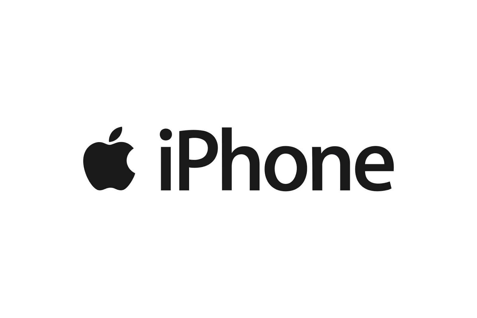 Connu Apple iPhone Logo AF33