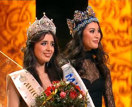 Miss Russia 2013 winner Elmira Abdrazakova