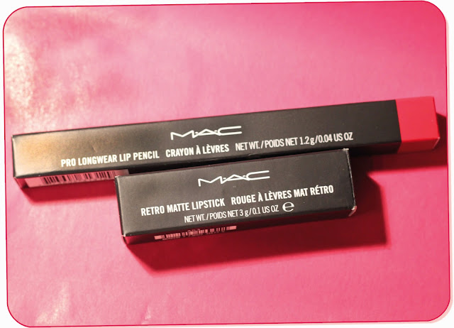 PHOTO MAC RETRO MATTE LIPS ALL FIRED UP