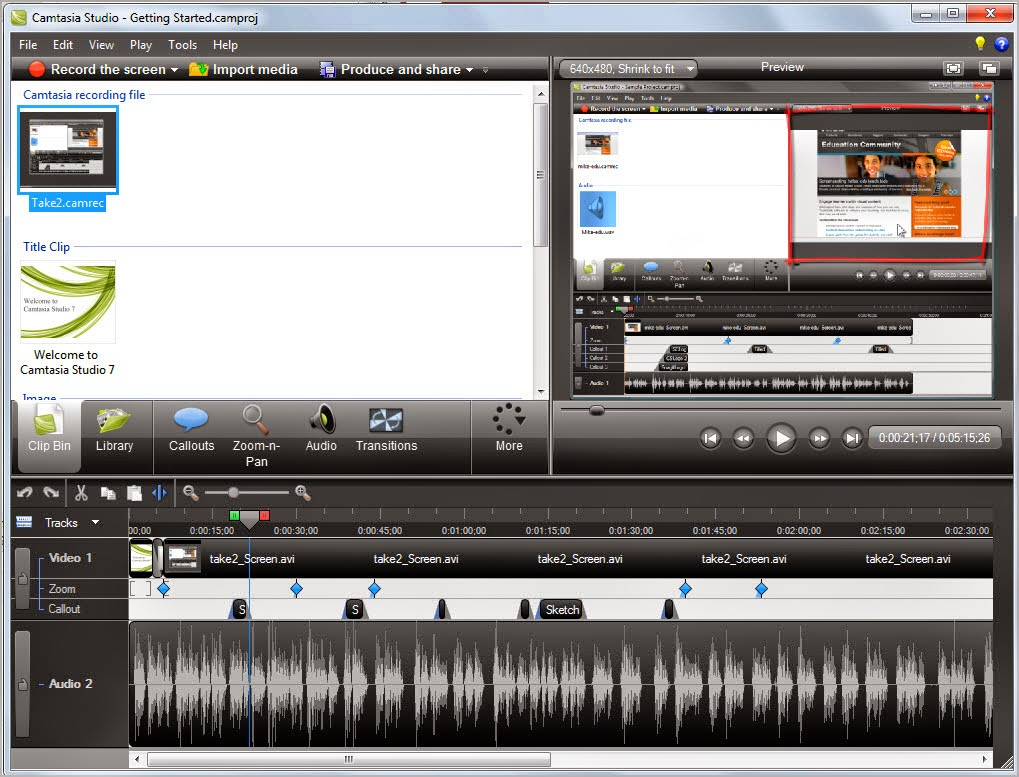 Camtasia Studio 8.4.1 Build 1745 Full Version
