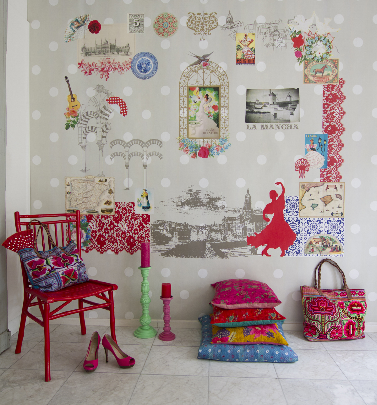 Bb the countrybaby blog ideas de decoraci n infantil - Decoracion de murales ...