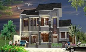 gambar desain rumah minimalis lantai 2