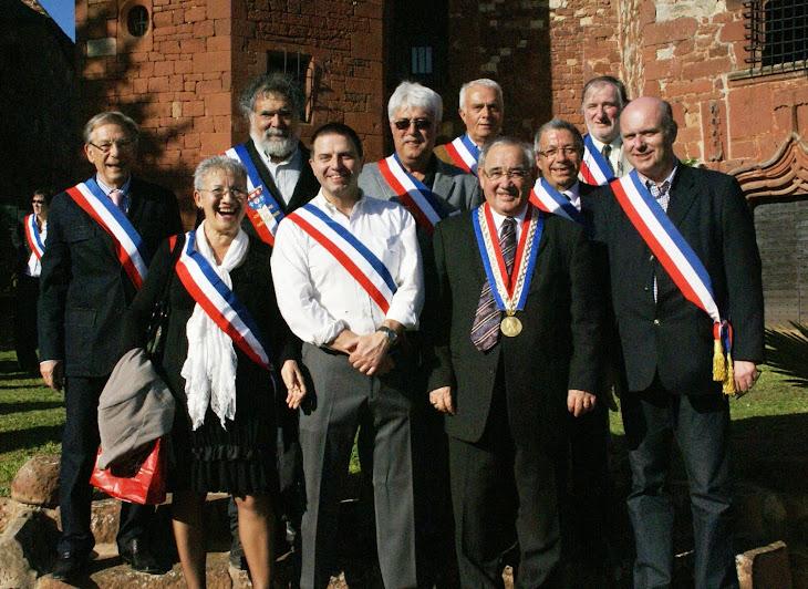 LES MAIRES DES PBVF DU LANGUEDOC ROUSSILLON  A L'AG DE COLLONGES