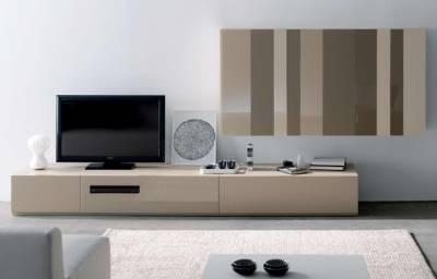 Tienda muebles modernos muebles de salon modernos salones - Muebles bajos para salon ...