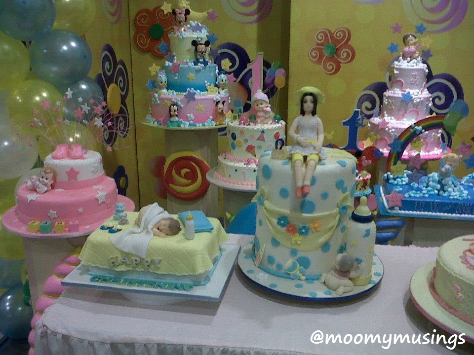 Goldilocks Cake Design For Christening : Baby Company s Grand Baby Fair 3 - Moomy Musings