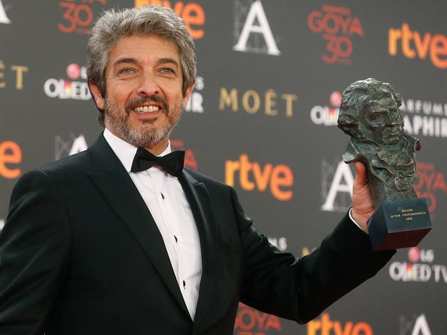 """* Ricardo Darín: recibió el Goya al mejor actor por """"Truman"""""""
