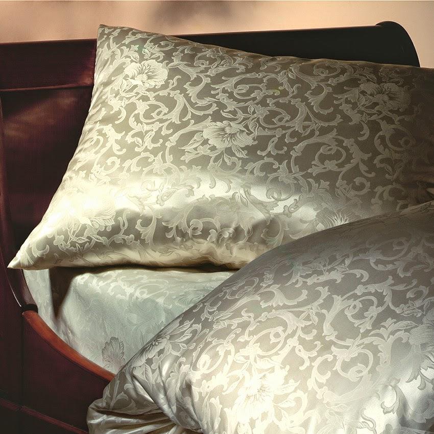 Seidenbettwäsche Katharina Champagner von Cellini