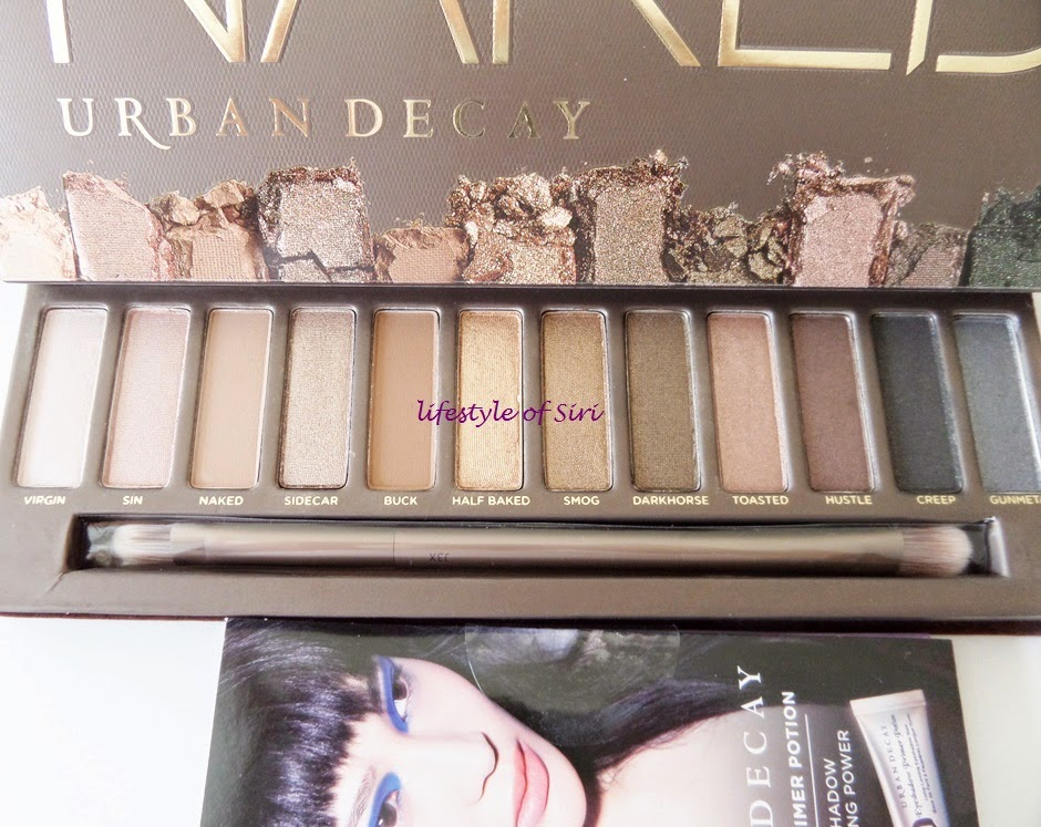 Urban Decay Naked 1 Far Paleti