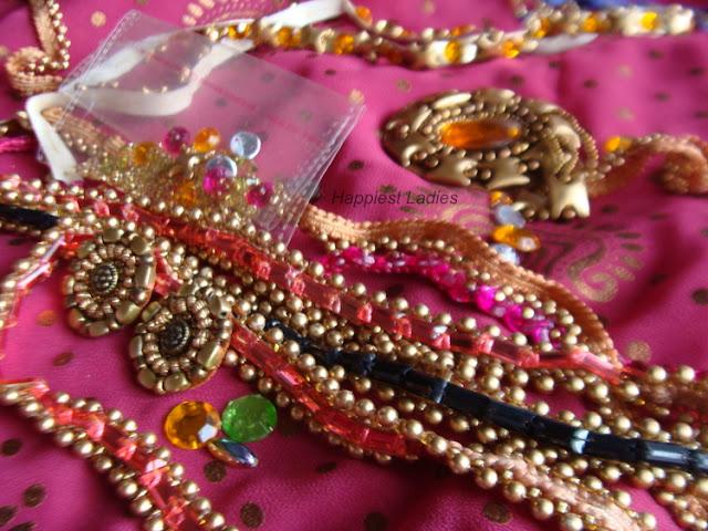 indian fashion+make a sari