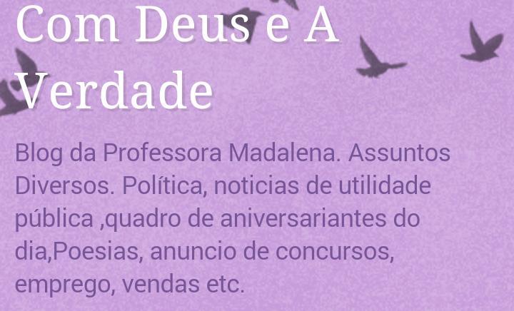 CLIQUE NA IMAGEM DO BLOG DA PROFESSORA MADALENA