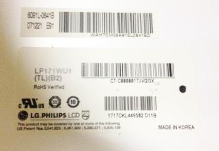 Nomor Model LCD Controler Board