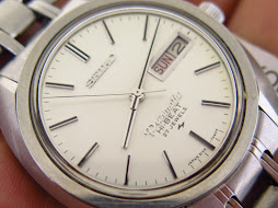 SEIKO PRESMATIC HI BEAT 27 JEWELS WHITE DIAL - AUTOMATIC HIGH BEAT 5146 7090