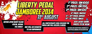 Liberty Pedal Jamboree 2014 - 31 August 2014