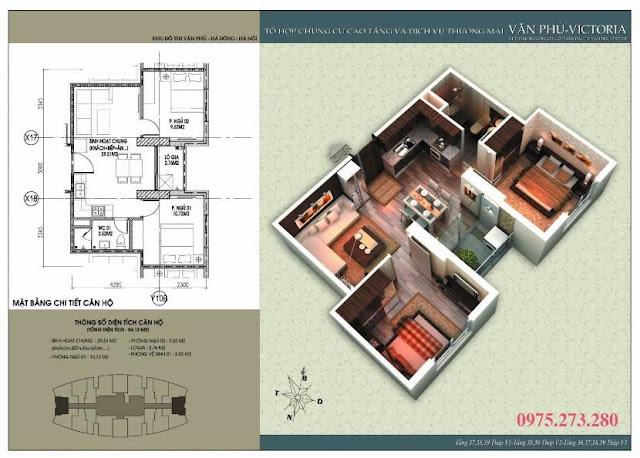 Bán cư xá Văn Phú Victoria căn 10 , 20