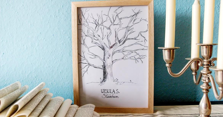 meindingsda: Stammbaum für Hochzeit oder Geburtstag