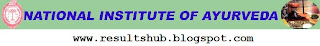 National Institute of Ayurveda Faculty Recruitment 2012