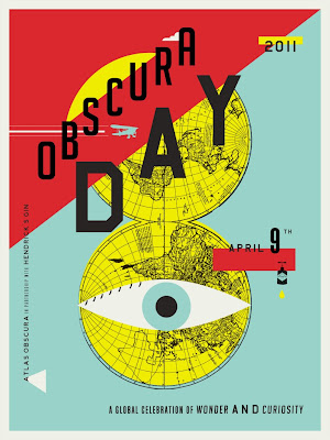 Obsucra Day Poster1 768x1024 Atlas Obscura Day t shirt and poster