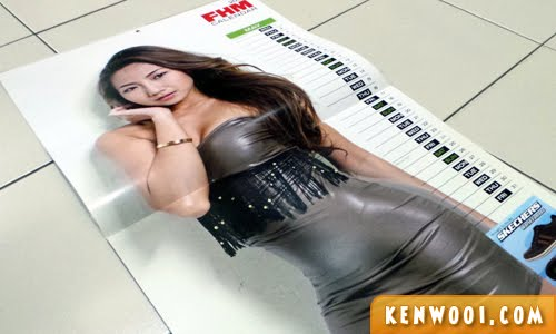 FHM calendar girl 2013 may