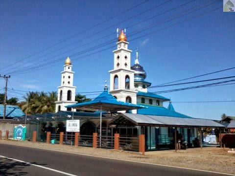 Masjid Besar Al Aman Angkinang